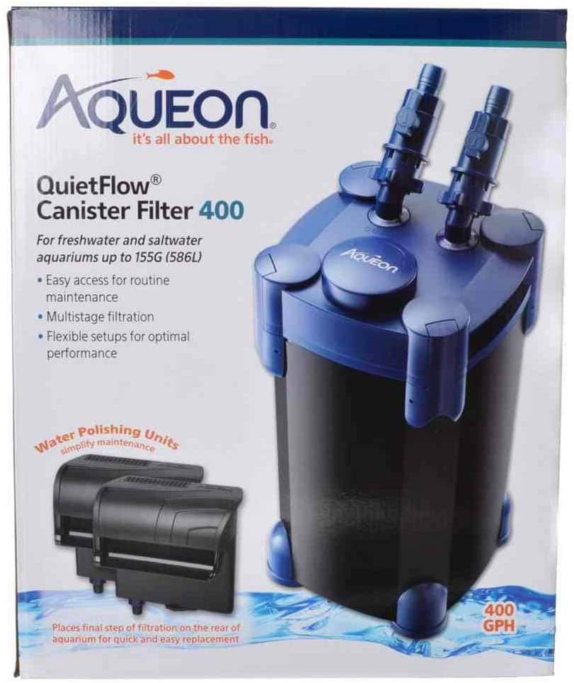 aqueon quietflow canister filter 400 gph