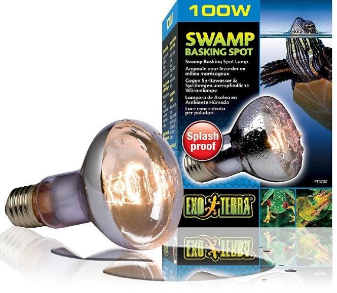 exo terra swamp basking spot lamp
