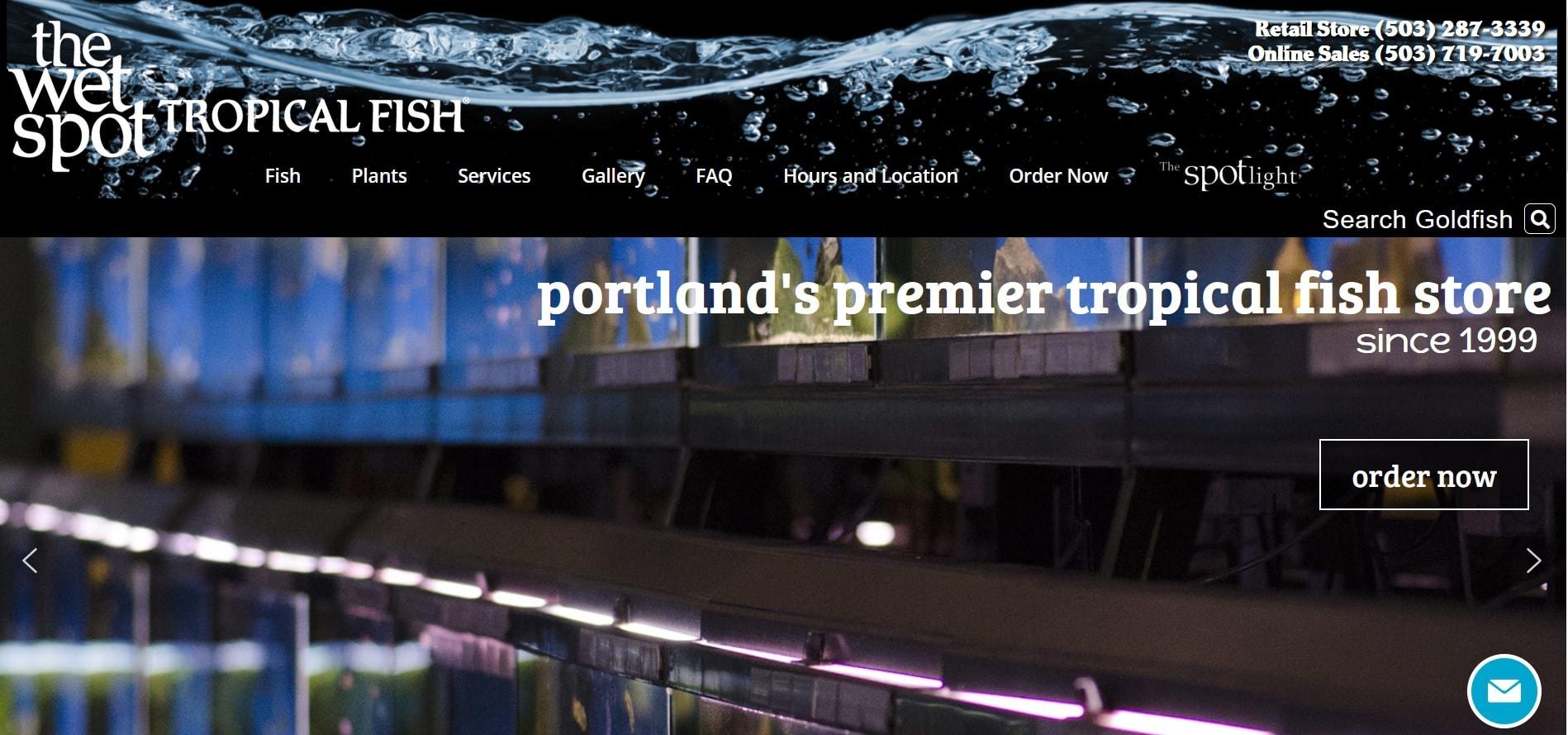 wetstpottropicalfish homepage