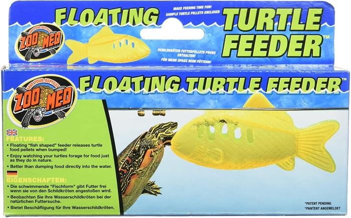 floating turtle feeder