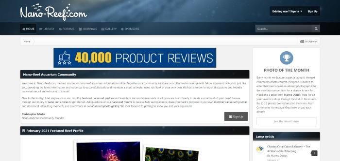 nano-reef homepage